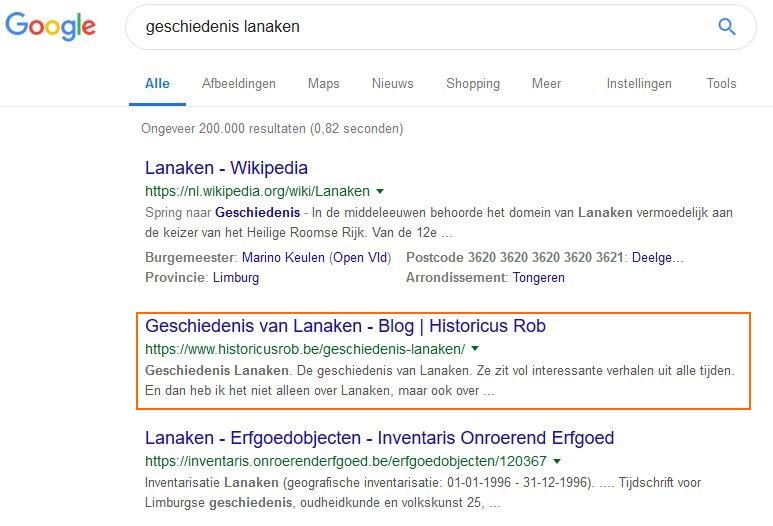 Online marketing Lanaken